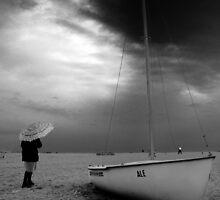 Winter Sea - Forte dei Marmi Italy by Peverus