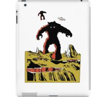 Space Invaders Moon Crater Monster iPad Case/Skin