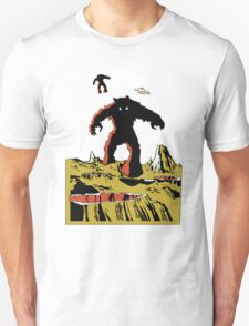 Space Invaders Moon Crater Monster Unisex T-Shirt