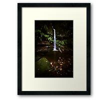 Linda Falls, Katoomba Framed Print