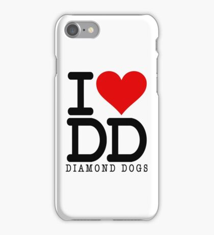 I ♥ Diamond Dogs (Metal Gear Solid) iPhone Case/Skin