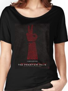 Words Can Kill - Metal Gear Solid V: The Phantom Pain Women's Relaxed Fit T-Shirt