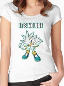 It's No Use Women's Fitted Scoop T-Shirt