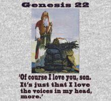 The Sacrifice of Isaac, Genesis 22:1-24 by Darren Stein