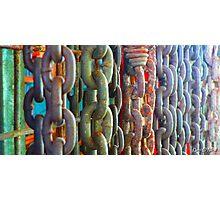 Chain Wall - Gympie, Queensland, Australia Photographic Print
