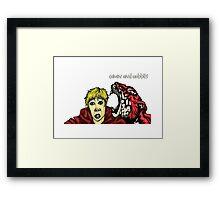 Calvin & Hobbes Grown Up Framed Print