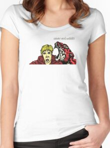 Calvin & Hobbes Grown Up Women's Fitted Scoop T-Shirt