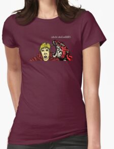 Calvin & Hobbes Grown Up Womens Fitted T-Shirt