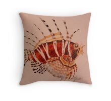 The Lion Fish Throw Pillow
