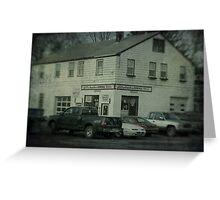 Gunn Bros. Garage Greeting Card