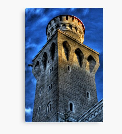 Knight's Tower III Canvas Print