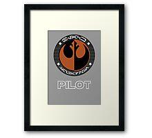 Star Wars Episode VII - Black Squadron (Resistance) - Star Wars Veteran Series Framed Print