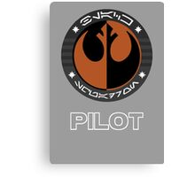 Star Wars Episode VII - Black Squadron (Resistance) - Star Wars Veteran Series Canvas Print