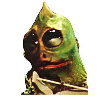 Land Of The Lost Sleestak T-Shirt Photographic Print
