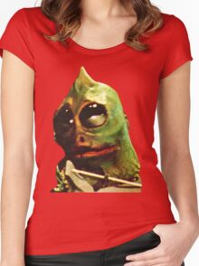 Land Of The Lost Sleestak T-Shirt Women's Fitted Scoop T-Shirt