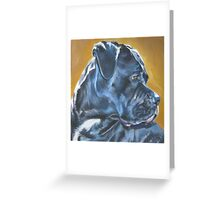 Cane Corso Fine Art Painting Greeting Card