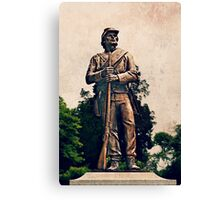The Confederate Soldier Canvas Print