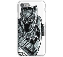Black Panther art iPhone Case/Skin