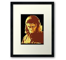 Planet Of The Apes T-Shirt Framed Print