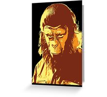 Planet Of The Apes T-Shirt Greeting Card