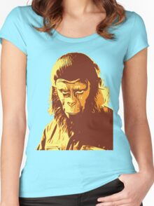 Planet Of The Apes T-Shirt Women's Fitted Scoop T-Shirt