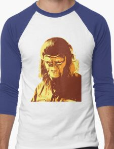 Planet Of The Apes T-Shirt Men's Baseball ¾ T-Shirt