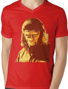 Planet Of The Apes T-Shirt Mens V-Neck T-Shirt
