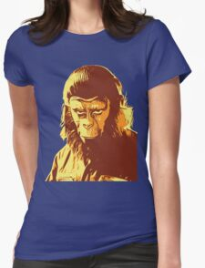 Planet Of The Apes T-Shirt Womens Fitted T-Shirt