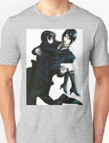 Black Butler - Sebastian and Ciel Unisex T-Shirt