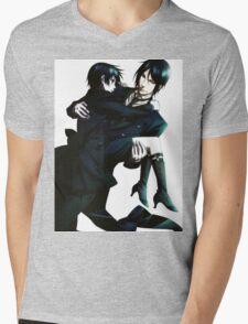 Black Butler - Sebastian and Ciel Mens V-Neck T-Shirt
