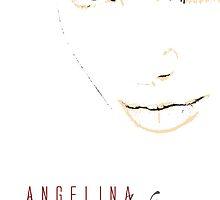 Angelina Jolie by celebrityart