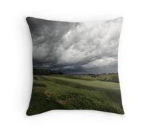 Greendale Storm Throw Pillow