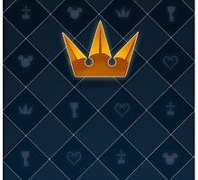 Kingdom Hearts CROWN by BluBanette