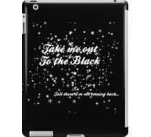 The Black in White iPad Case/Skin