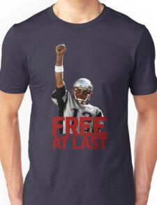 Tom Brady: Free At Last! Unisex T-Shirt