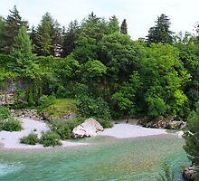 The River Runs Through It by Karen  Rubeiz