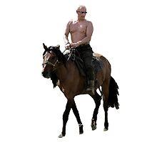 Vladimir Putin Deal With It by Mrdavidrud