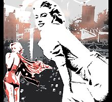 Marilyn Monroe by celebrityart