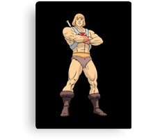 Masters Of The Universe He Man Canvas Print