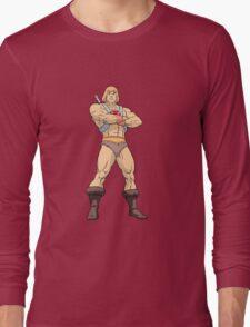 Masters Of The Universe He Man Long Sleeve T-Shirt