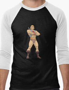 Masters Of The Universe He Man Men's Baseball ¾ T-Shirt