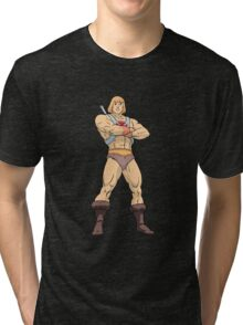 Masters Of The Universe He Man Tri-blend T-Shirt