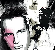 Paul Newman by celebrityart