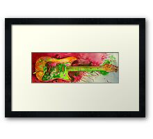 Spark It Up Framed Print