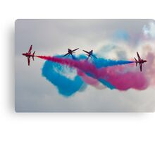 RAF Red Arrows Display Team Canvas Print