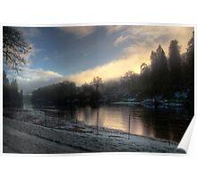 Morning Light - River Tay Poster