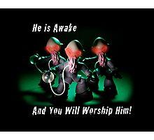 He Is Awake! Photographic Print