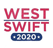 Kanye West for President & Taylor Swift for Vice President Photographic Print