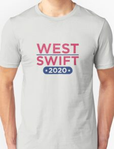 Kanye West for President & Taylor Swift for Vice President T-Shirt
