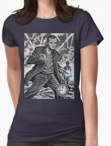 The Ninth Doctor Womens Fitted T-Shirt